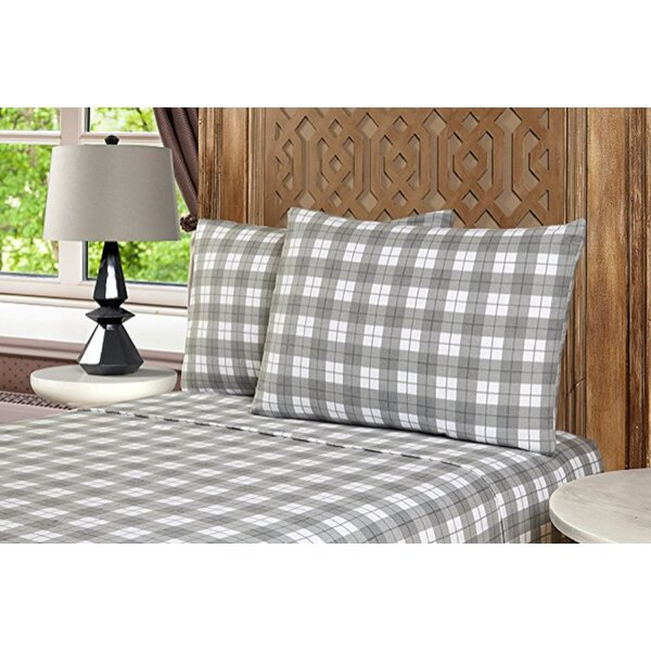 Geoffroy 3 Piece 100% Cotton Sheet Set by The Twillery Co.